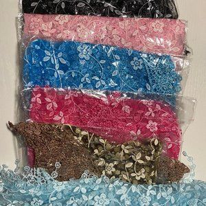 Decorative scarves-pack of six